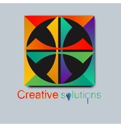 High quality original trendy Logo for vector image vector image