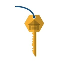 House key real estate buy shadow vector