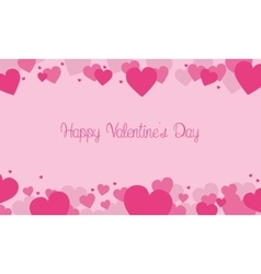 Love background for valentine day card vector