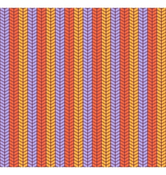 Seamless bright fun abstract vertical knitted vector