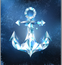 ice anchor vector image