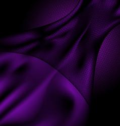 dark purple silk and veil vector image