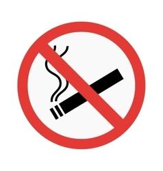 No smoke sign vector