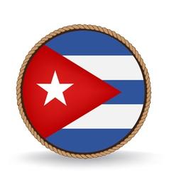 Cuba seal vector
