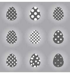 eggsgrad vector image vector image