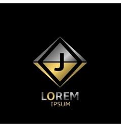 Letter j logo vector