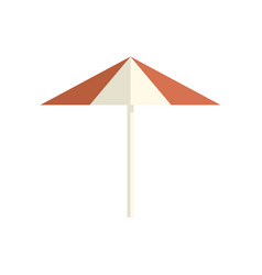 parasol icon on white isolated background vector image vector image