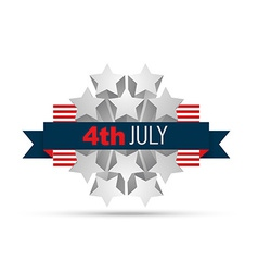 4th of july design vector