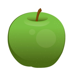 Apple isolated vector