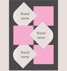 Brand design vector