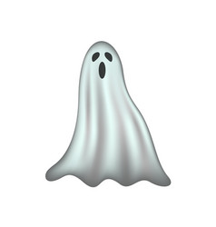 Ghost in ligh-blue design vector