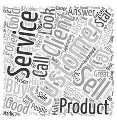 What is customer service text background wordcloud vector