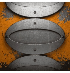 Old metal background vector