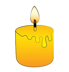 Candle stick vector