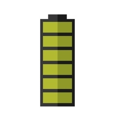 battery power energy icon vector image