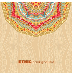 Bright ethnic background vector