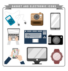 Gadget and electronic pack vector