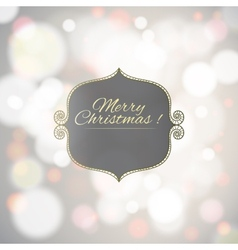 Magical background with colorful bokeh vector image vector image