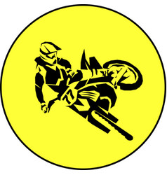 Moto racer extreme vector