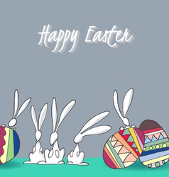 Rabbit01 vector image