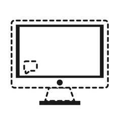 Computer icon imag vector