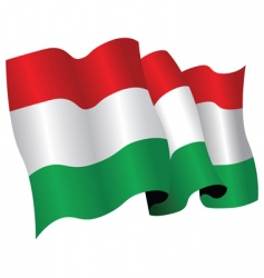 Hungary flag vector