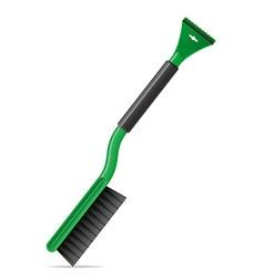 Brush for snow 01 vector