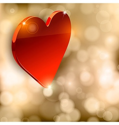 Luxury Heart vector image vector image