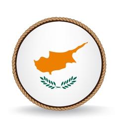 Cyprus seal vector