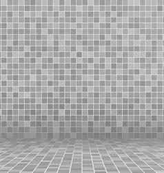 gray swimming pool ceramic vector image