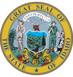 Idaho seal vector