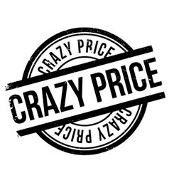Crazy price stamp vector