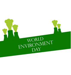 World environment day 5th june environmental vector