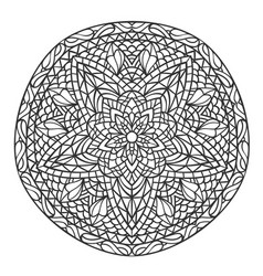 Mandala decorative ornament element pattern vector