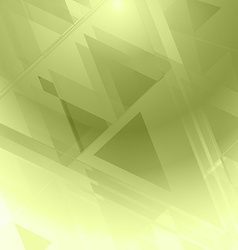 Background abstrac green geometric vector image