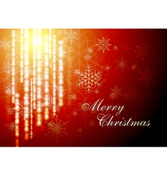 Abstract X-mas background vector image vector image