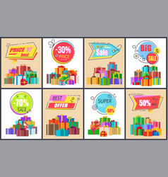 best sale and super price on vector image vector image