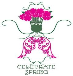 Celebrate spring vector