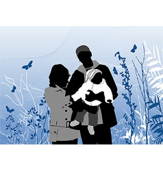 couple plant vector image