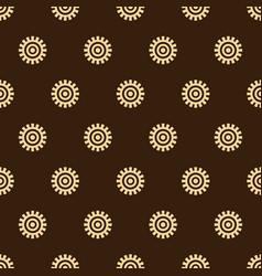 Adinkra west african symbols pattern textile vector