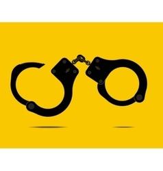 handcuffs - vector image