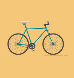 classic urban bike city road bicycle vector image