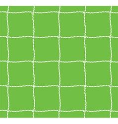 Football net vector