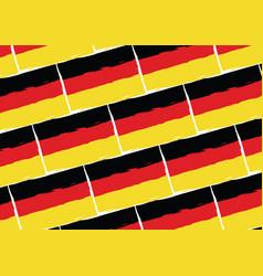 Grunge germany flag or banner vector