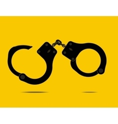 handcuffs - vector image