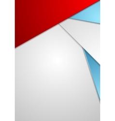 Minimal tech corporate flyer design vector