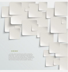 White paper abstract background vector image
