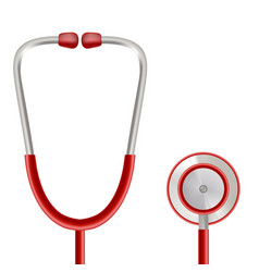 Health care concept with stethoscope vector