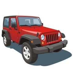 Off-road vehicle vector