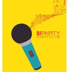 Music party festival vector